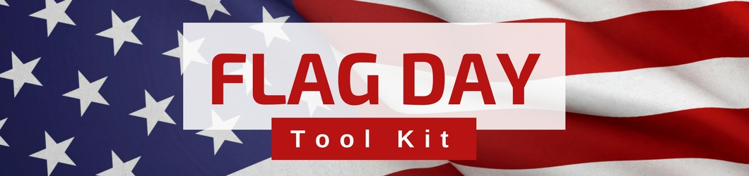 FLAG DAY web banner