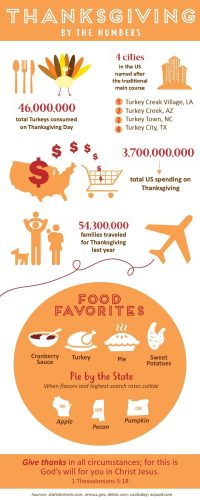 Thanksgiving Infographic