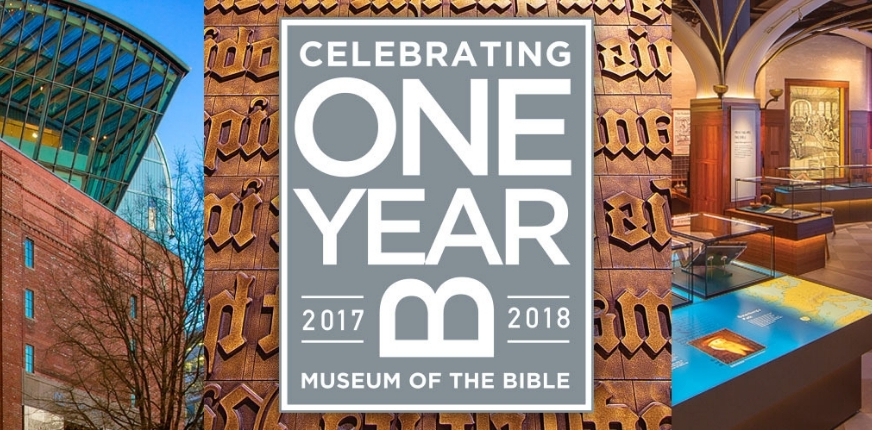 One Year of Museum of the Bible!