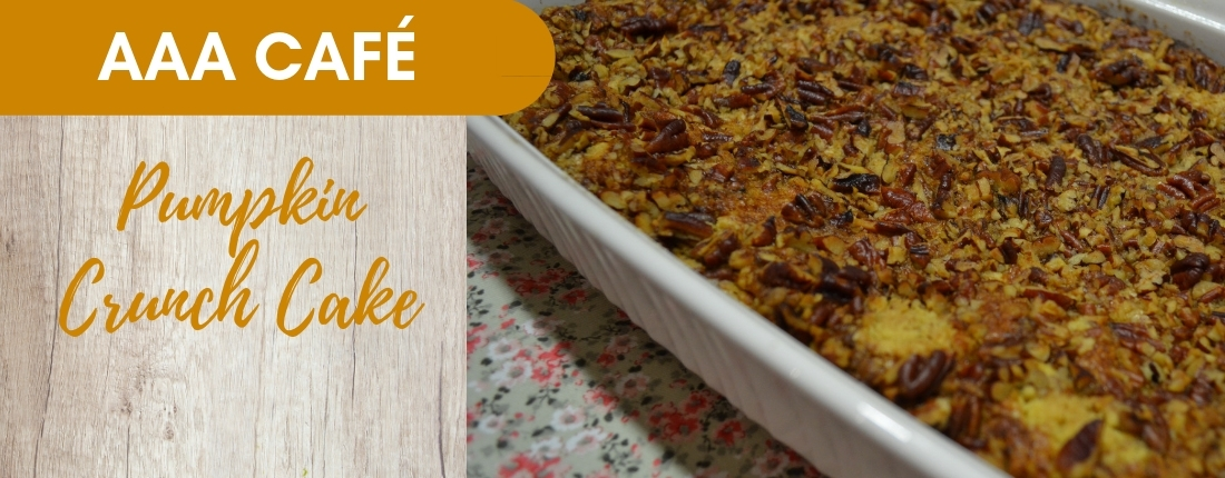Recipe: Pumpkin Crunch Cake