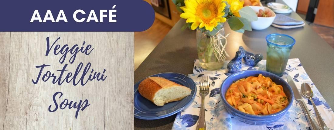 Recipe: Veggie Tortellini Soup