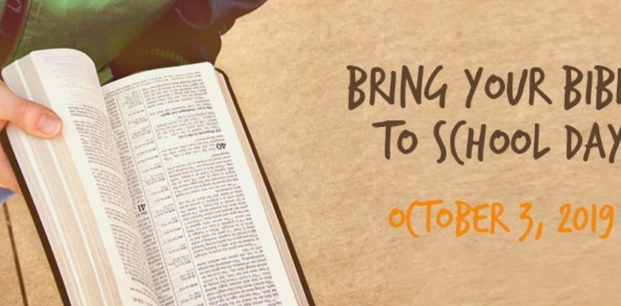 Bring Your Bible to School Day 2019