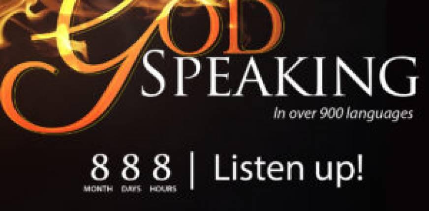 888: God Speaking