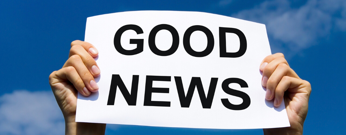 Here's the Good News … But First the Bad