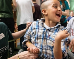 Boy in Wheelchair Awed to See Someone Like Him in Target Ad