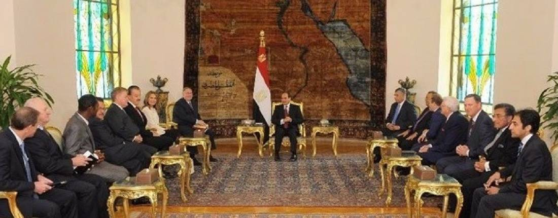Jim Garlow Meets with Egypt's President