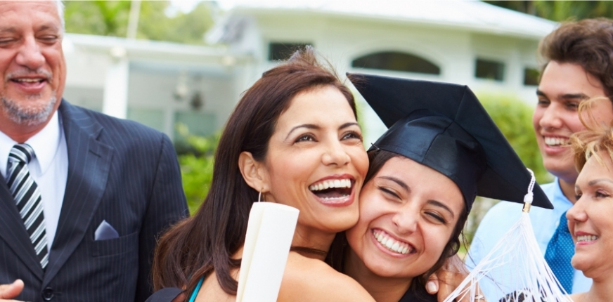 Moms, Dads, and Grads