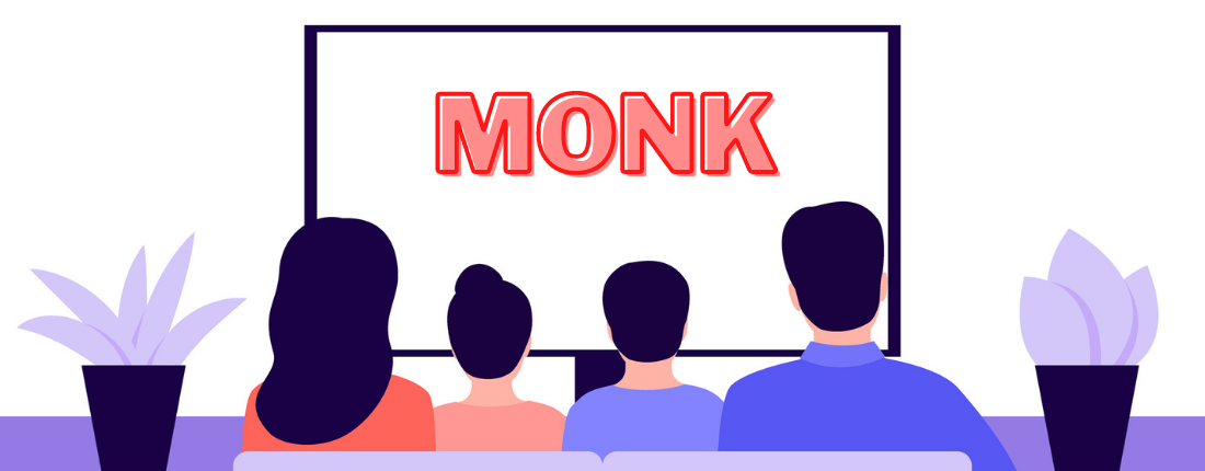I GUEST-STARRED ON MONK