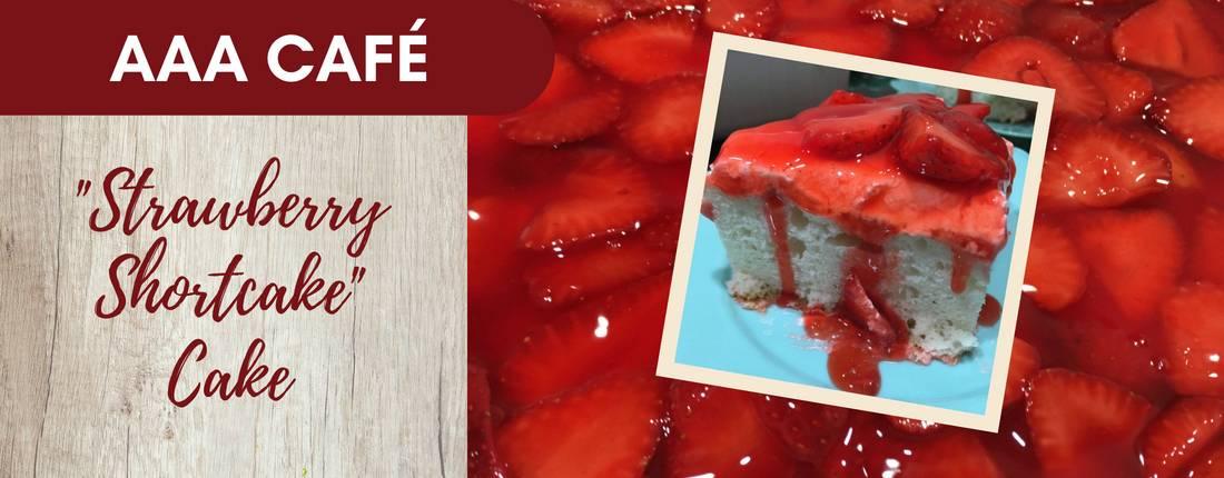 Recipe: Strawberry Shortcake Cake