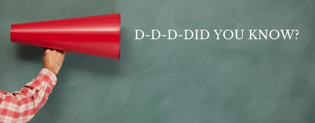 Trivia: D-D-D-DID YOU KNOW?