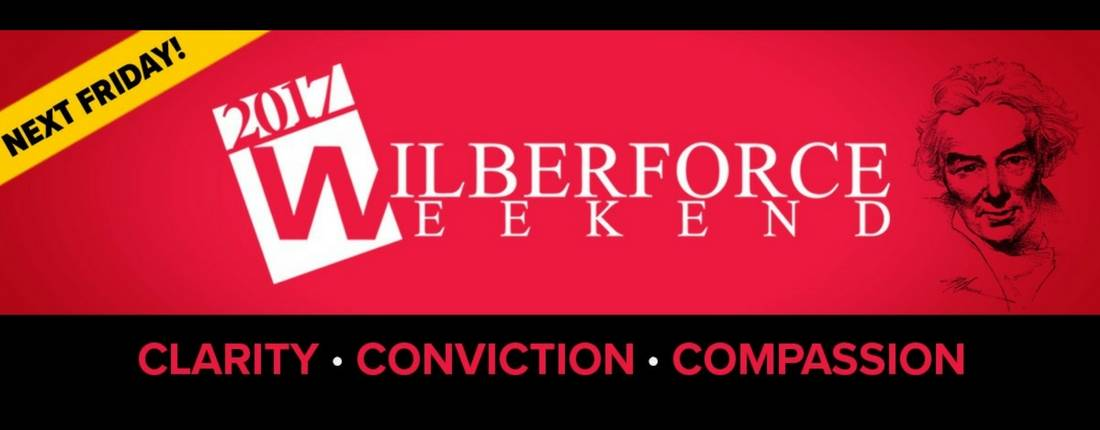 Watch the Wilberforce Weekend LIVE!