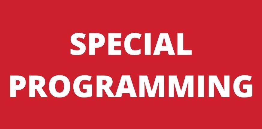 Special Programming on Coronavirus Response