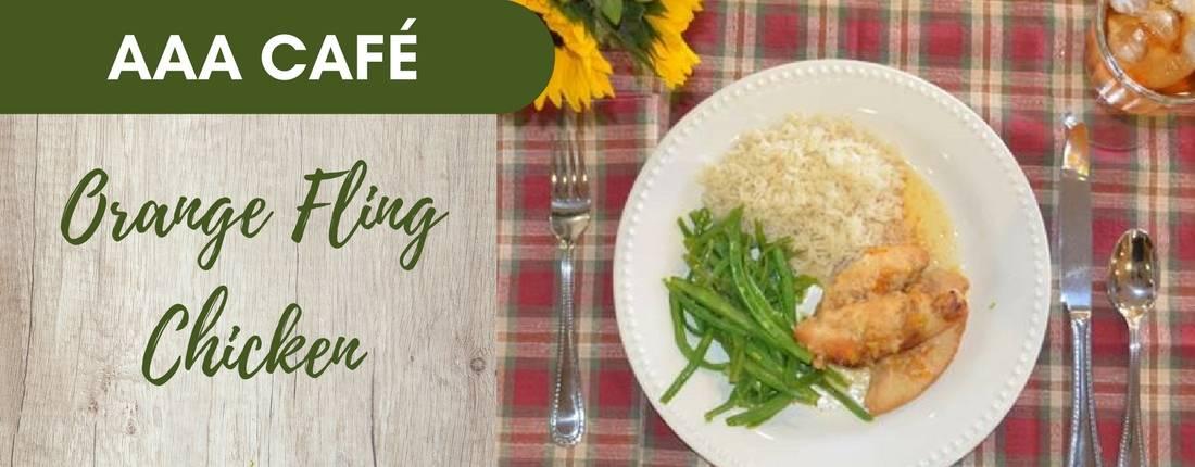 Recipe: Orange Fling Chicken